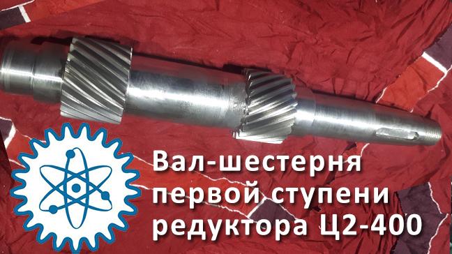 Быстроходный вал редуктора Ц2-400